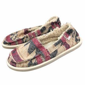 Sanuk Women's Shorty TX Chill slip on shoe 8